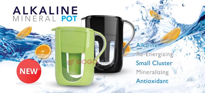 alkaline mineral pot